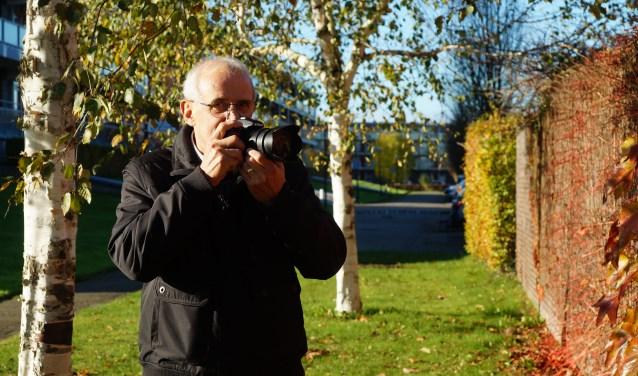 Addy Stalfoort gaat bijna dagelijks de natuur in om foto's te maken en hij stuurt ze wekelijks trouw in naar onze redactie die vaak een foto van hem plaatst. FOTO: Winny van Rij