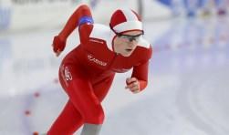 Marit van Beijnum reed een clubrecord op de 500 meter. (Foto: Hidde Muije)