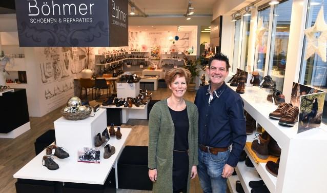 Ondernemers van de week: Petra en Guus Böhmer. (foto: Roel Kleinpenning)