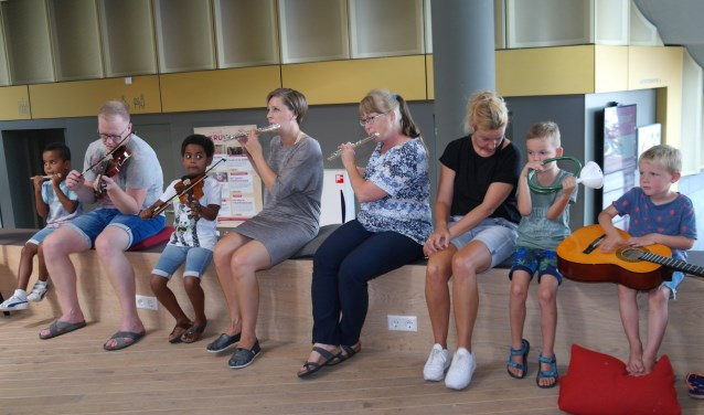 De muzieklessen in het Trefpunt gaan weer van start (Foto: PR)