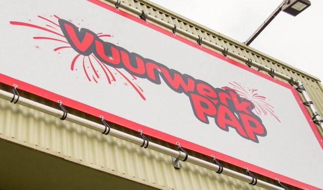De verkoophal is geopend vanaf 9 december. (Foto: Petra Brouwer)