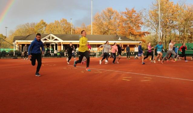Om toch nog wat leden te winnen en die ook te behouden, houdtde KNLTB in samenwerking met de clubs leuke acties zoals Funmasters. Foto: Thijs Middelkoop