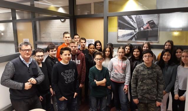 Vrijdag 8 december werd een bezoek gebracht aan de Sekundarschule Horstmar in Schöppingen door een groep van 20 leerlingen uit het derde VMBO-T (Mavo) leerjaar