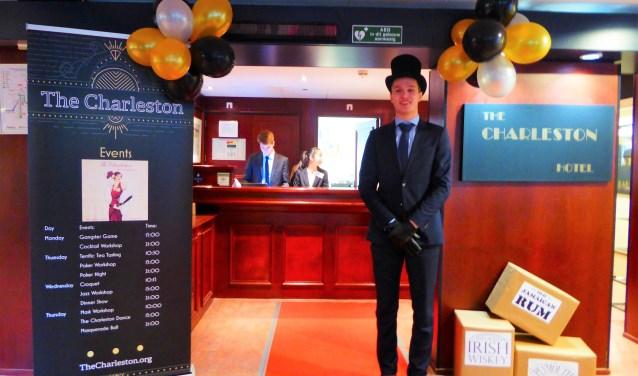 Stayokay Arnhem was vorige week voor één week het drie sterren hotel The Charleston. (foto: Marnix ten Brinke)