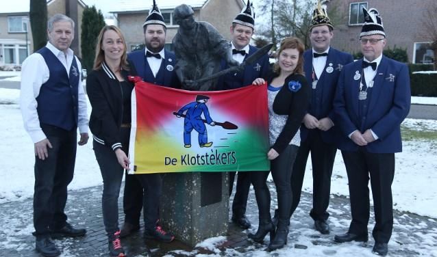 Carnavalsvereniging de Klotstèkers uit Wilbertoord (Foto: Marco van den Broek).