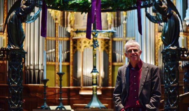 """Hans Schoorlemmer: """"Tijdens de dienst gaat het over het Evangelie, maar ook over jou""""."""
