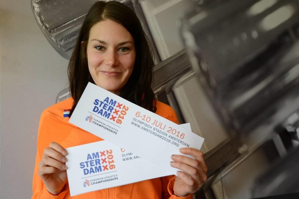 InSportHeld Maureen Koster is klaar voor het EK Atletiek.