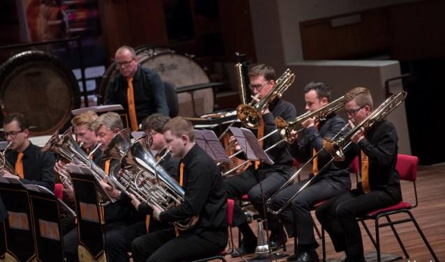 Altena Brass scoorde 92 punten tijdens de deelname aan de concertwedstrijden afgelopen weekend. Foto: www.goldy.uk