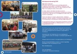 Uitnodiging voor de nieuwjaarsontmoeting van de gemeente Overbetuwe