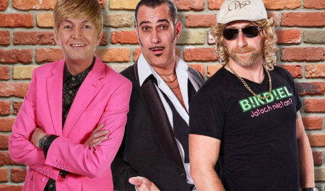 Arie van Ballegooie, Rocco di Cabrio en Gilles de la Tourniquette vormen met elkaar de Wannebiezz en willen niets liever dan zichzelf zijn.