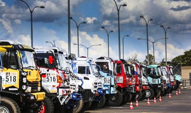 Nederland is met 9 trucks de hofleverancier voor de truckklasse. FOTO: ASO.