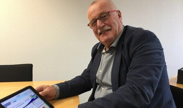 Henk Hengeveld heeft de app als eerste gedownload.