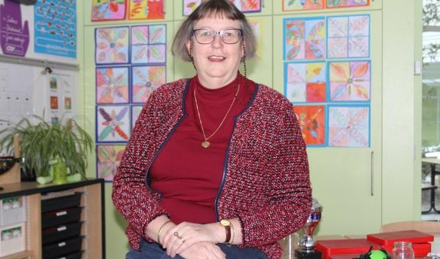 Na 40 jaar trouwe dienst op basisschool De Touwladder is het voor juffrouw Yvonne haar tweede thuis. Foto: Wendy van Lijssel