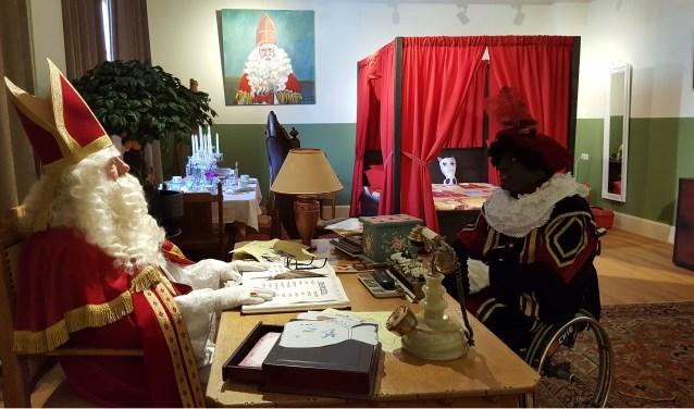 Sinterklaas ontving dit jaar meer bezoekers dan ooit in zijn tijdelijke onderkomen in het Huis van Waalwijk.