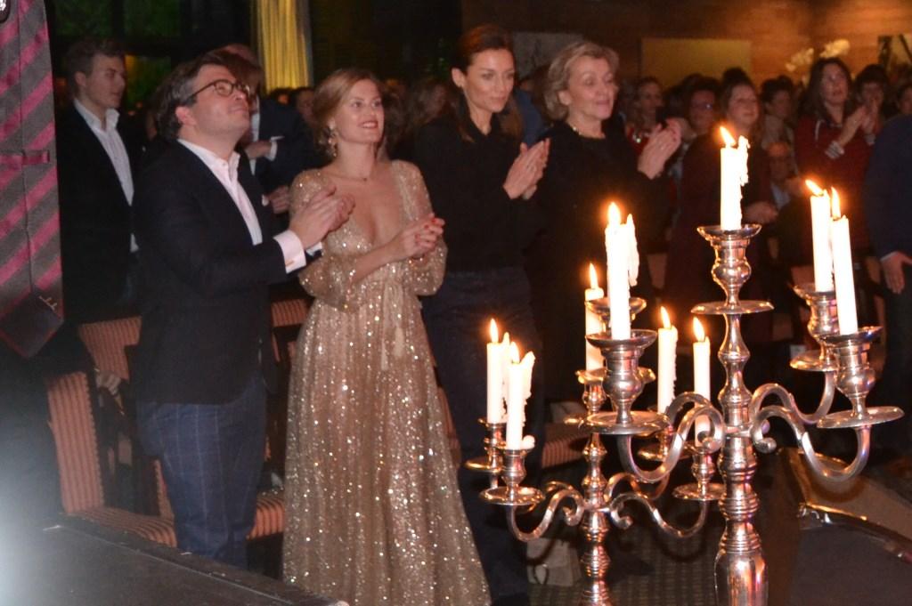 Ook prinses Aimée genoot van het optreden van Trijntje Oosterhuis  © Persgroep