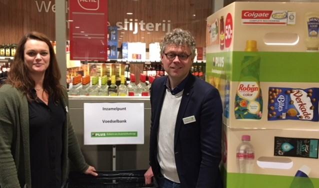 In de maand december is de PLUS Edwin en Astrid Holtrop net als vorige jaar weer inzamelpunt voor de voedselbank.