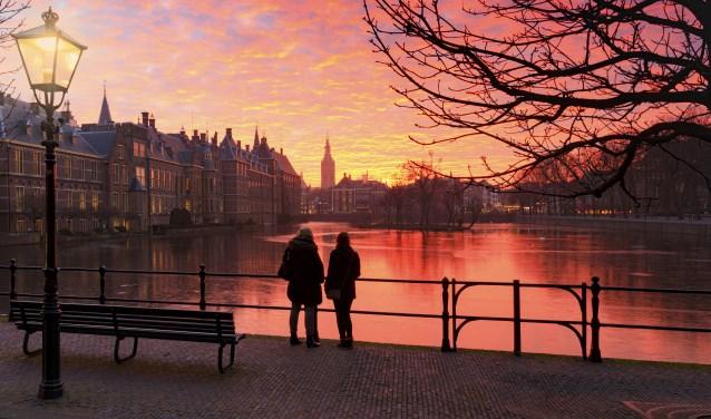 Den Haag wil graag dé winterstad van Nederland worden en houdt daarom tal van activitieten. Foto: Arjan de Jager