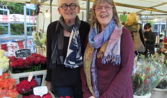 Ans van Dijk en Gemma Hellevoort (Foto: Adriënne Nijssen)