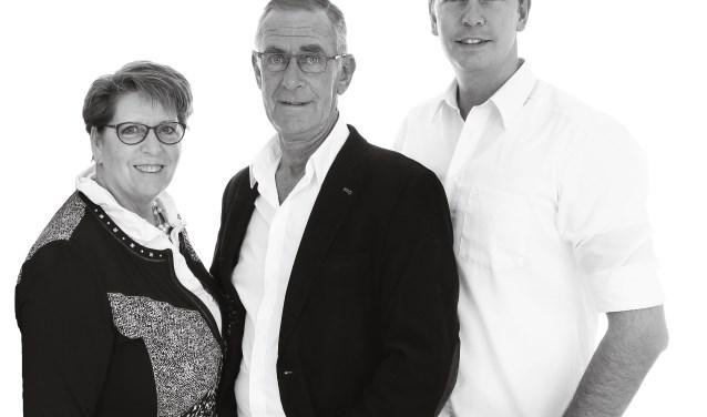 Nel, Pim en Thijs van Rooijen