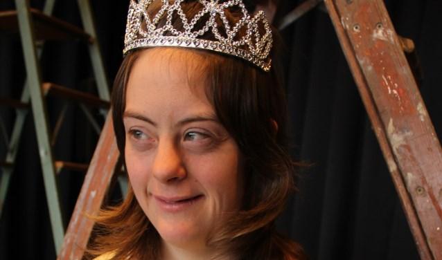 Diantha van Hoof in haar rol als prinses Lina.