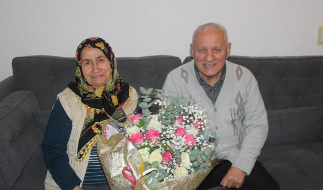 Het echtpaar Yilmaz woont al heel veel jaren naar tevredenheid in hun flat aan de PC Boutensstraat