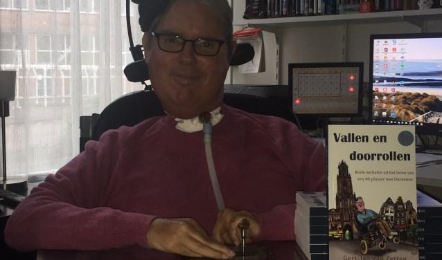 Utrechter Gert-Jan van Zetten schreef het boek 'Vallen en doorrollen', over zijn leven met Duchenne.