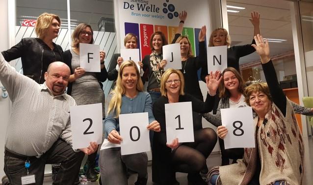 Het team van De Welle wenst iedereen een mooi nieuw jaar!