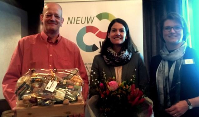 V.l.n.r.Jeroen Steenhuis, Jitske Stefas en Anne Wassink