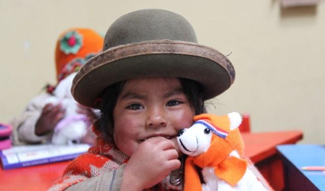 Stichting HoPe heeft ruim 130 kleuterscholen gebouwd, ingericht en van speelleermateriaal voorzien. (foto: Stichting HoPe Peru)