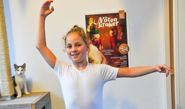 Jordhan Vroegh weet wat hij wil, klassiek balletdanser worden. FOTO: Bert Jansen.