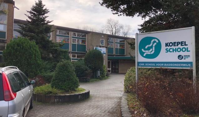 Het huidige gebouw van de Koepelschool aan de Oranjelaan.