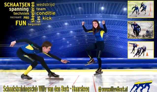 Schaatstrainingsclub Willy van den Berk uit Haarsteeg biedt op 12 en 19 december gratis proeflessen schaatsen aan.