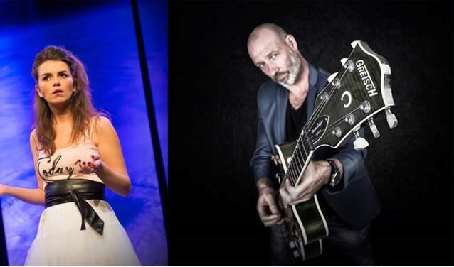 Louise Korthals en Eddy Zoey. Foto: Kulturhus Holten
