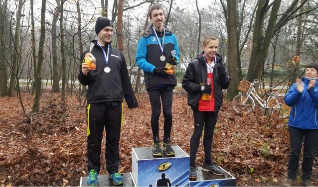VB atleet Tjalle Vink liep in de Enclave cross naar een knappe derde plaats.