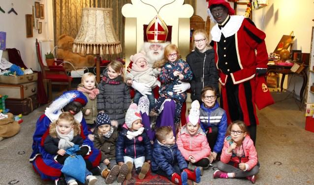 Sinterklaas was afgelopen weekend nog in hartje Boxmeer.  (foto: Bas Delhij)