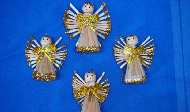 Engelen in de Catharinakerk.
