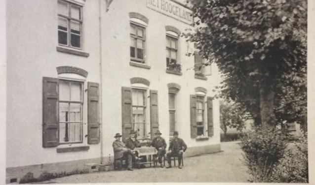 Hoofdgebouw op Het Hoogeland in 1910