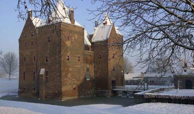 Slot Loevestein is in de kerstvakantie geopend van 23 december tot en met 7 januari van 11.00 tot 17.00 uur.