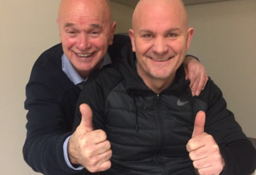 """Peter Ooms (links) en Arjan Demers kijken reikhalzend uit naar de opening van hun sportschool in Tilburg Noord: """"Wie al een kijkje wilkomen nemen in onze nieuwe vestiging is welkom op donderdag 21 december tussen 9.00 en11.00 uur en 19.00 en 21.00 uur."""""""