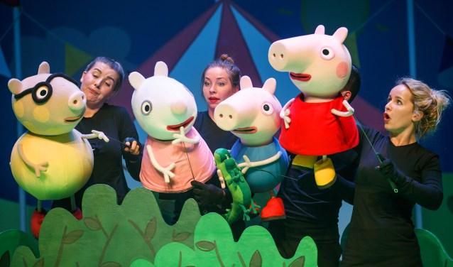 Op 29 december beleeft Peppa Pig samen met haar vriendjes in Beatrix Theater een vrolijk avontuur.