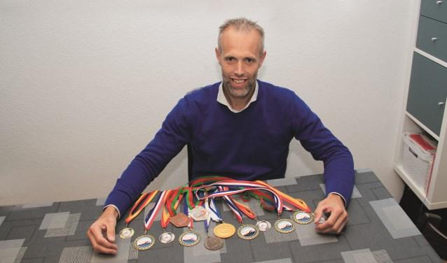 Jeroen Koster verzamelde dit jaar medailles aan de lopende band.