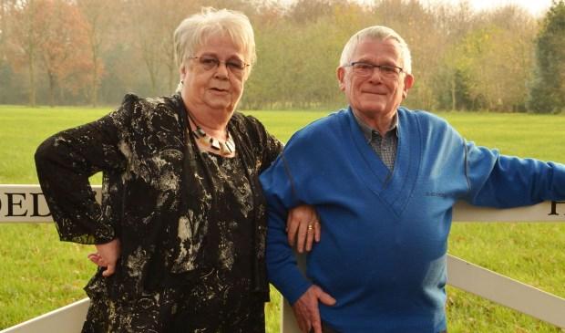André en Gonny van Drunen hebben op vrijdag 1 december hun gouden bruiloft gevierd.
