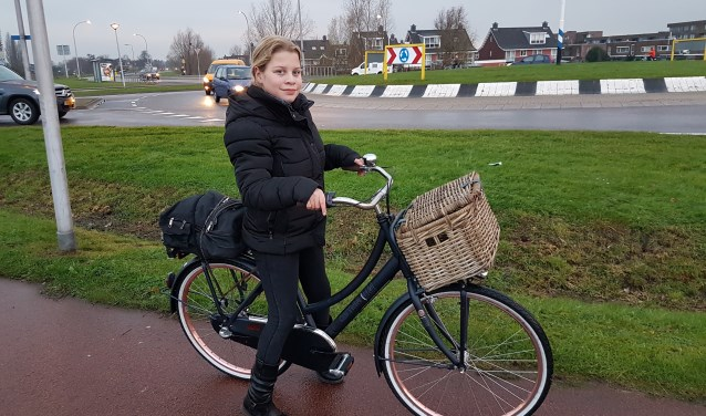 Meer verlichting langs de fietspaden bij de Oudelandselaan en de rest van Berkel en Rodenrijs, bepleit Sanne Bloom.