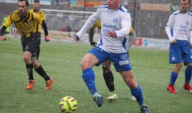 WZC tegen Reaal eindigde in 4-1. Onze sportverslaggever Arend Vinke hield ook de andere voetbaluitslagen bij. (Foto: Aad Eilander)