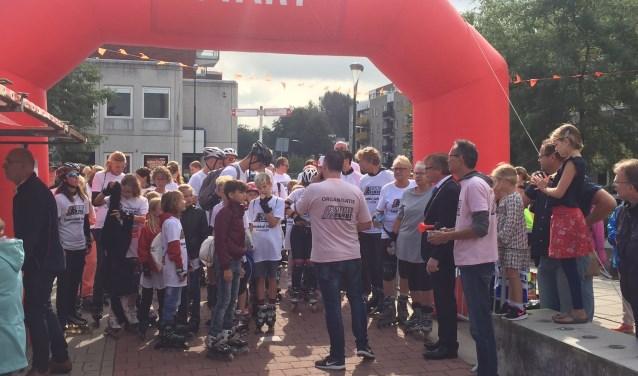 Foto van evenement in Stichtse Vecht: skeelerronde Maarssenbroek