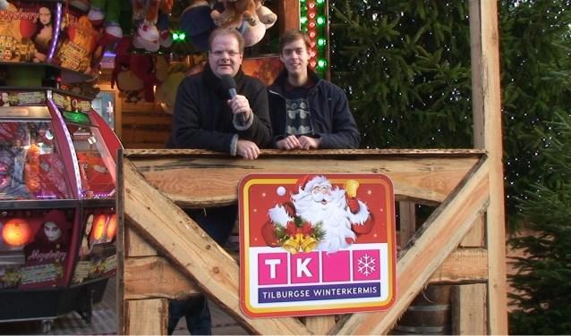 John Vermeer (links) en Edwin Smulders, presentators van Zwieren & Zwaaien.