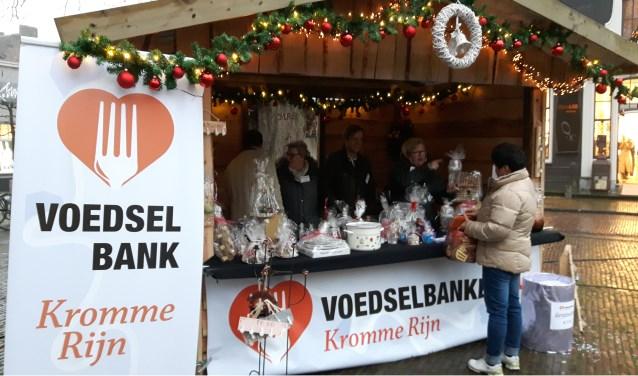 Voedselbank Kromme Rijn biedt de mogelijkheid tot en met 5 januari a.s. de mogelijkheid om houdbaar voedsel af te geven: