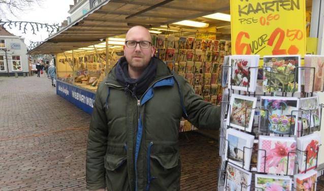 """Job de Gooijer: """"Kom gezellig even snuffelen"""". FOTO: John Beringen"""