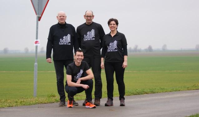 Team de Cloe is volop in voorbereiding op de Alpe d'HuZes. Om geld in te zamelen wordt er op zaterdag 13 januari een sponsorloop gehouden.