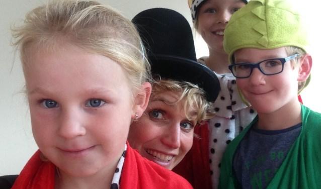 Kinderen kunnen were voor korte cursussen terecht bij Cultuurlokaal. (Foto: PR)